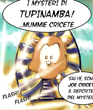 Tupinamba! 10 MUMMIE CRICETE INTRO