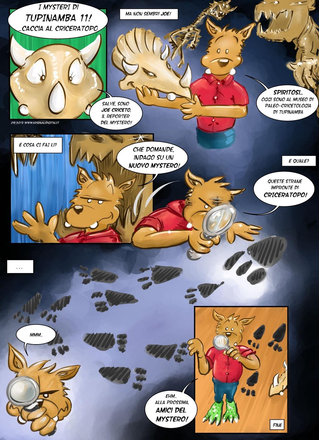 Caccia al Criceratopo Web